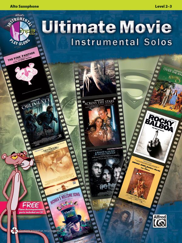 Ultimate Movie Instrumental Solo: Alto Saxophone: Instrumental Album