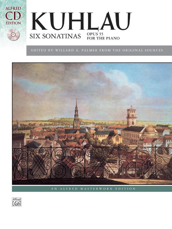 Friedrich Kuhlau: Six Sonatinas Op. 55: Piano: Instrumental Album