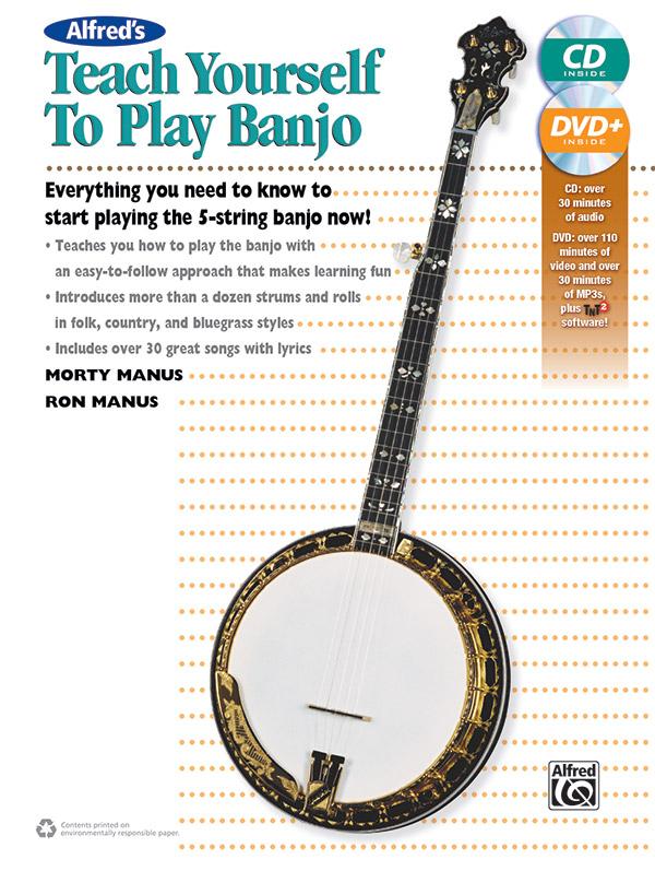 Morton Manus Ron Manus: Alfred's Teach Yourself to Play Banjo: Banjo: