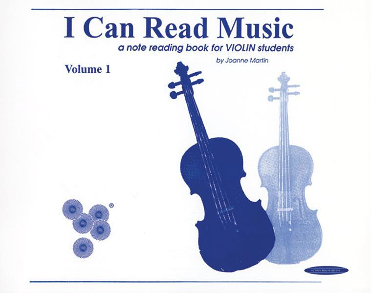 Joanne Martin: I Can Read Music vol.1: Violin: Instrumental Tutor