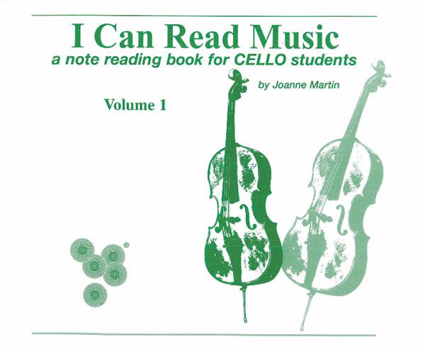 Joanne Martin: I Can Read Music vol.1: Cello: Instrumental Tutor
