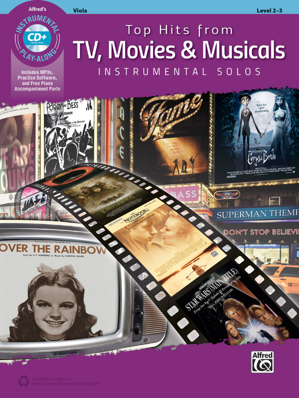 Top Hits from TV  Movies & Musicals: Viola: Instrumental Album