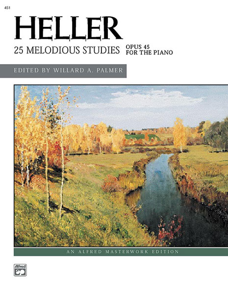 Stephen Heller: Melodious Studies Op.45: Piano: Study