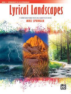 Mike Springer: Lyrical Landscapes 3: Piano: Instrumental Collection