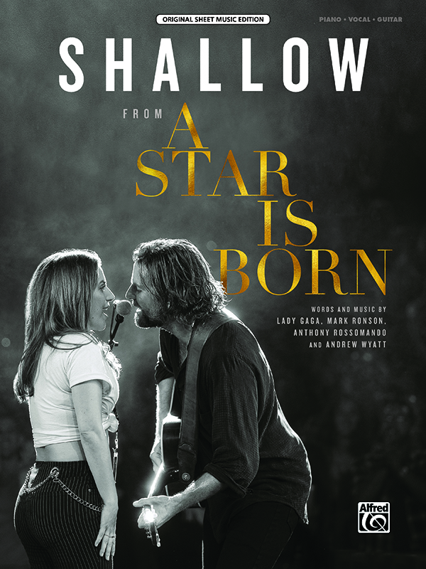 Shallow (A Star Is Born): Piano  Vocal  Guitar: Single Sheet