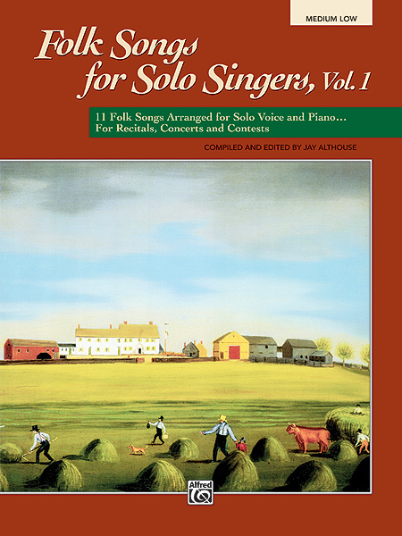 Folk Songs for Solo Singers  Vol. 1: Vocal: Vocal Album