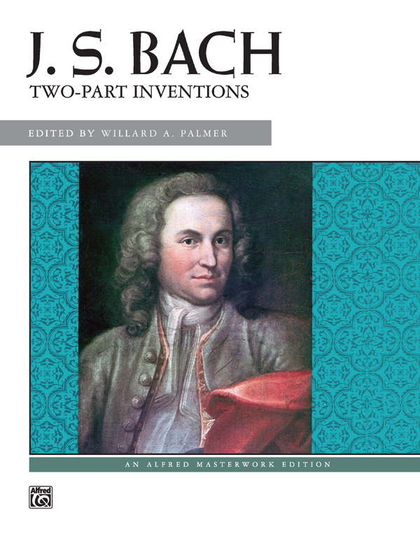 Johann Sebastian Bach: Two Part Inventions Masterwork Edition: Piano: