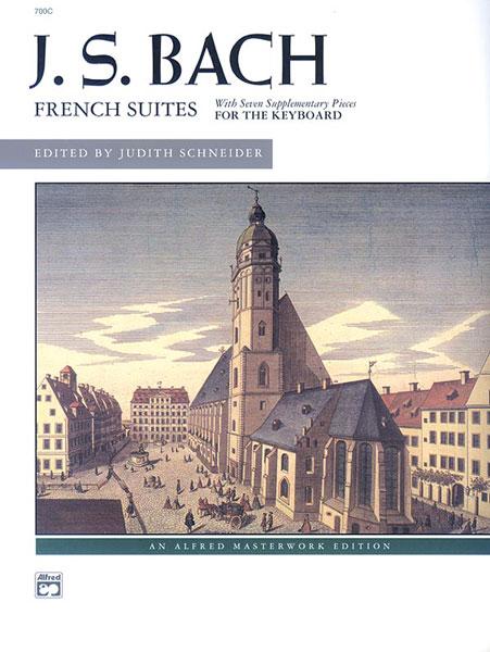 Johann Sebastian Bach: French Suites: Piano: Instrumental Work
