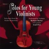 Solos for Young Violinists CD  Volume 1: Violin: Instrumental Tutor