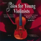 Solos for Young Violinists CD  Volume 4: Violin: Instrumental Tutor