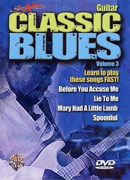 SongXpress: Classic Blues  Vol. 3: Guitar: Instrumental Tutor