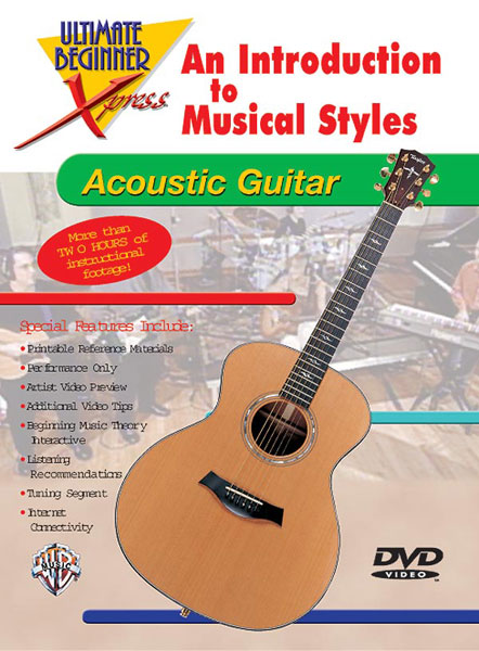Introduction to Musical Styles for Acoustic Guitar: Guitar: Instrumental Tutor