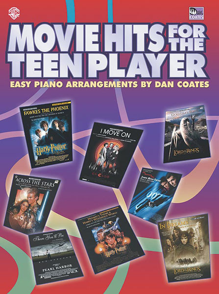Movie Hits For The Teen Player: Piano: Mixed Songbook