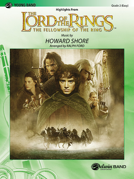 Howard Shore: The Lord of the Rings: The Fellowship of the Ring: Concert Band