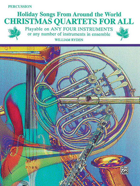 Christmas Quartets for All: Percussion: Instrumental Collection