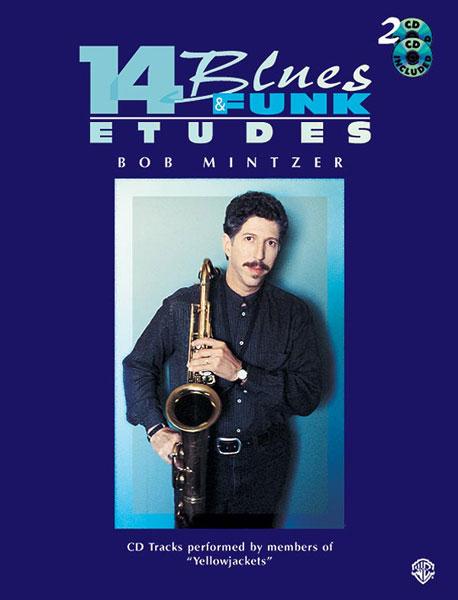 Bob Mintzer: 14 Blues & Funk Etudes - C Instr: C Clef Instrument: Instrumental