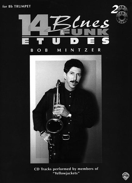 Bob Mintzer: 14 Blues & Funk Etudes: Alto Saxophone: Instrumental Tutor