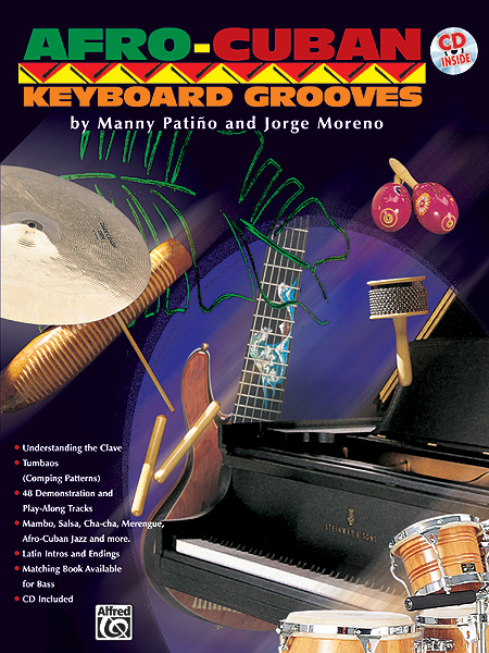 Jorge Moreno Manny Patio: Afro-Cuban Keyboard Grooves: Piano