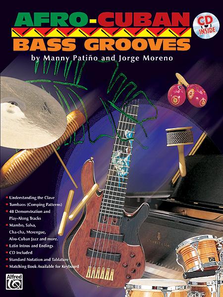 Manny Patio Jorge Moreno: Afro-Cuban Bass Grooves: Bass Guitar: Instrumental