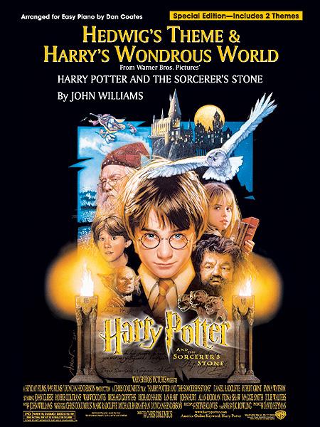 John Williams: Hedwig's Theme & Harry's Wonderous World: Piano: Single Sheet