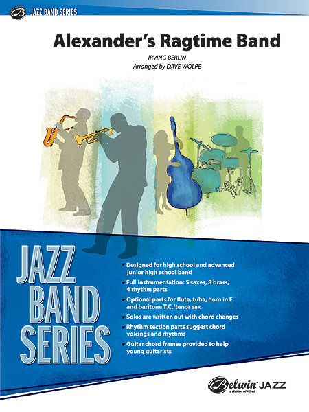 Irving Berlin: Alexander's Ragtime Band: Jazz Ensemble: Score and Parts