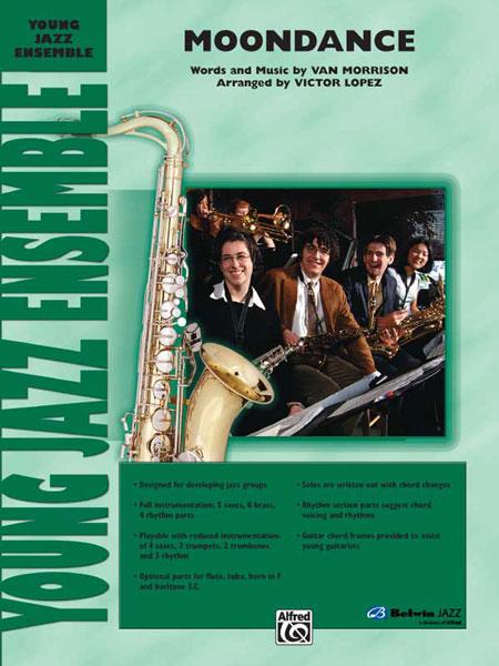 Van Morrison: Moondance: Jazz Ensemble: Score and Parts