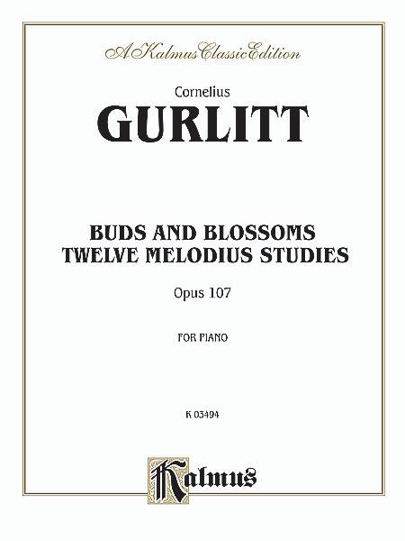 Cornelius Gurlitt: Buds and Blossoms  Op. 107: Piano: Instrumental Album