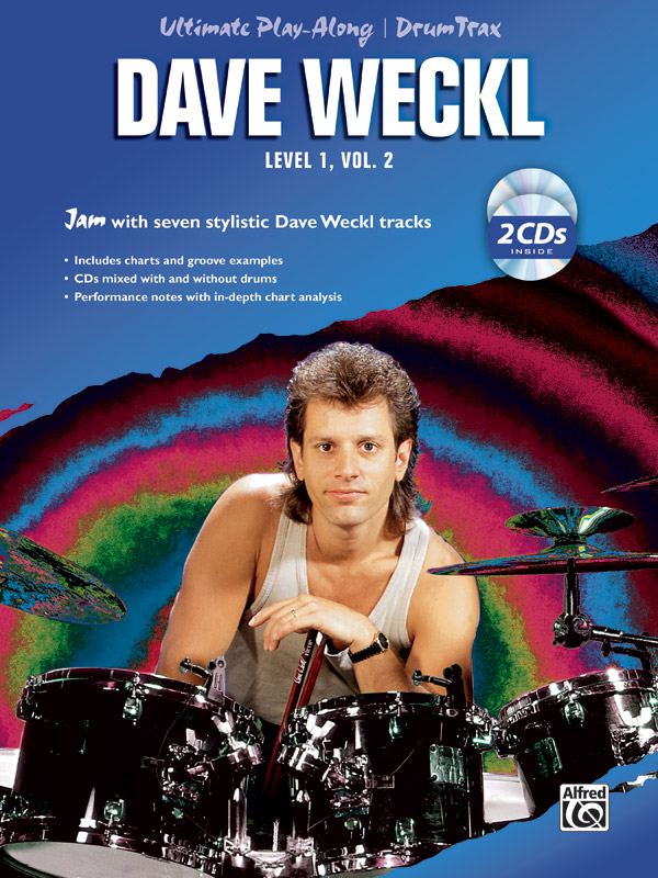 Dave Weckl: Ultimate play-along Drum Trax Level 1 Volume 2: Drum Kit: