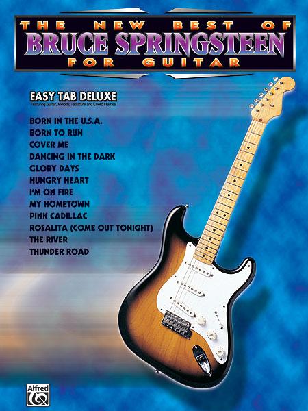 Bruce Springsteen: The New Best of BRUCE SPRINGSTEEN for Guitar: Guitar: Artist