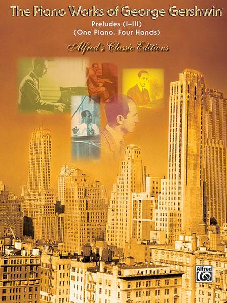 George Gershwin: Preludes: Piano Duet: Instrumental Album