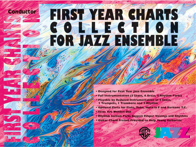 First Year Charts Collection for Jazz Ensemble: Tenor Saxophone: Instrumental