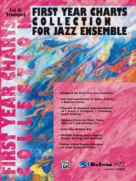 First Year Charts Collection for Jazz Ensemble: Trumpet: Instrumental Album