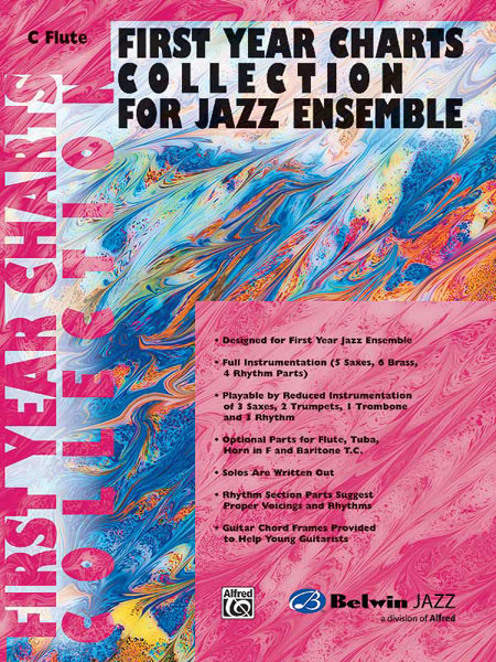 First Year Charts Collection for Jazz Ensemble: Flute: Instrumental Album