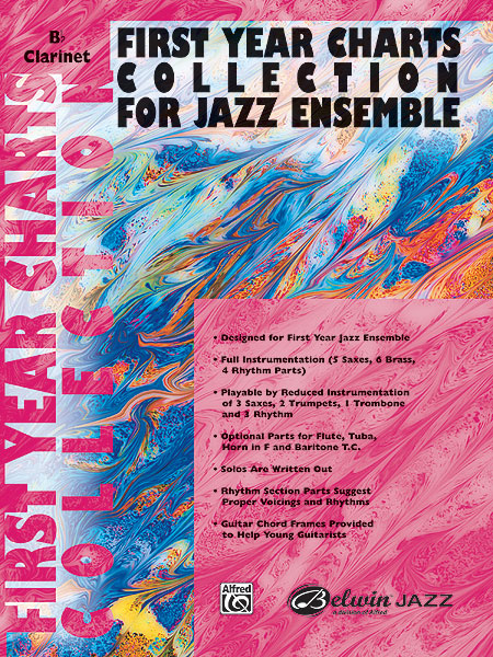 First Year Charts Collection for Jazz Ensemble: Clarinet: Instrumental Work
