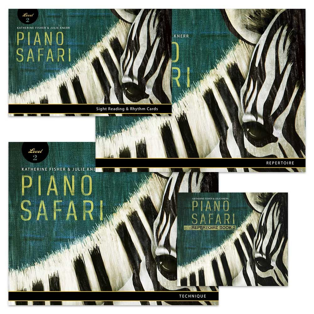 Katherine Fisher Julie Knerr: Piano Safari: Level 2 Pack: Piano: Instrumental