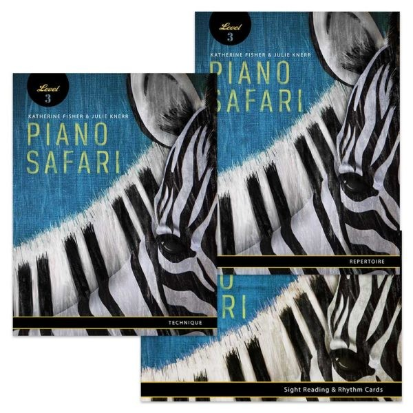 Katherine Fisher Julie Knerr: Piano Safari: Level 3 Pack: Piano: Instrumental