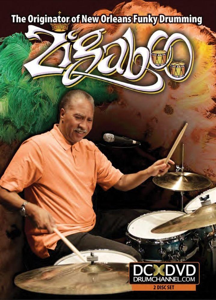 Zigaboo Modeliste: Originator New Orlean Funky Drumming DVD: Instrumental Tutor