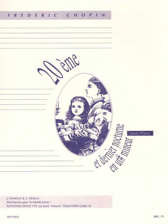 Frédéric Chopin: Nocturne No.20 In C Sharp Minor: Piano: Instrumental Work