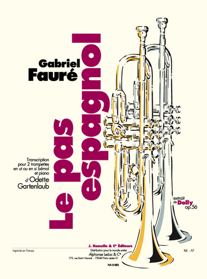 Gabriel Fauré: Le Pas Espagnol. Extrait De Dolly Op.56: Trumpet Duet: