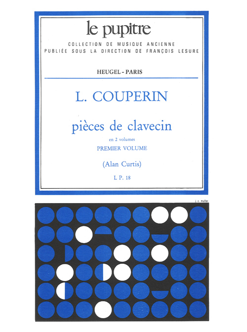 Louis Couperin: Pieces de Clavecin Vol.1: Harpsichord: Instrumental Work