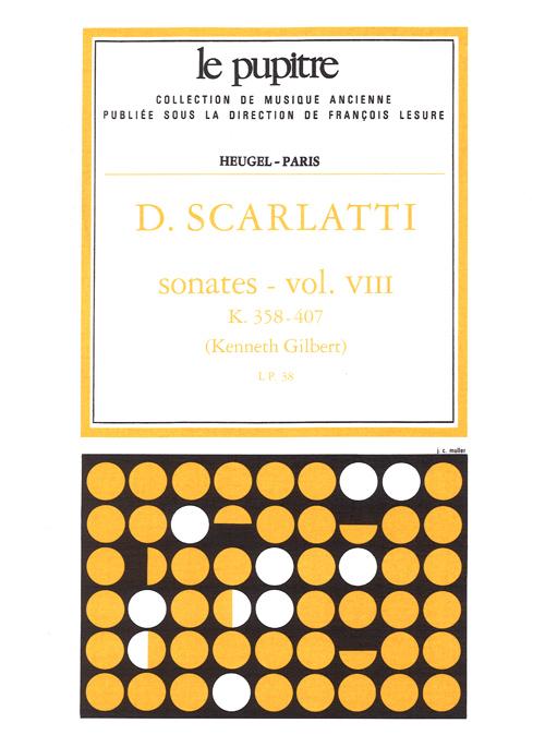 Domenico Scarlatti: Sonates Volume 8 K358 a K407: Harpsichord: Score