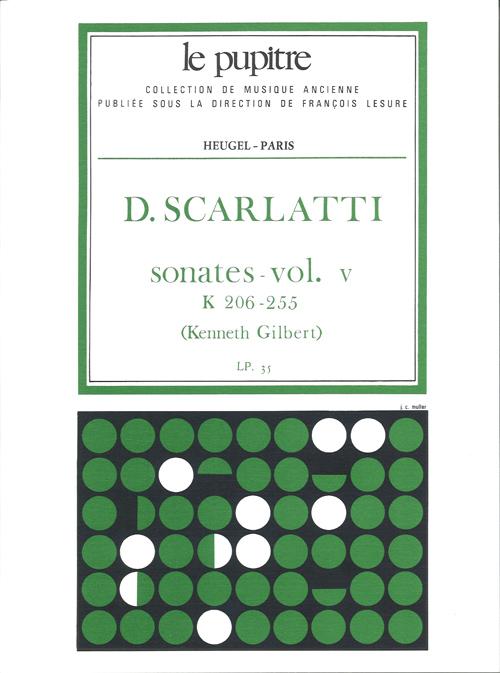 Domenico Scarlatti: Sonates Volume 5 K206 a K255: Harpsichord: Instrumental