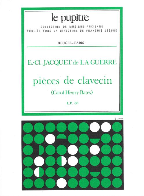 Jacquet de la Guerre: Pieces de Clavecin (Lp66)