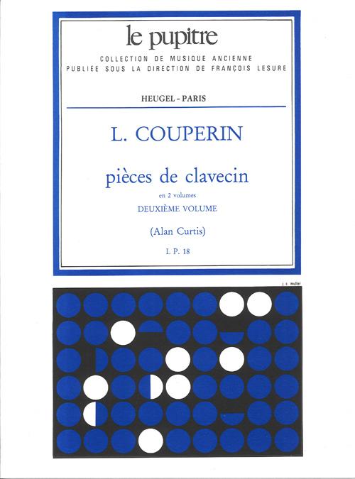 Louis Couperin: Pieces de Clavecin Vol.2: Harpsichord: Instrumental Work