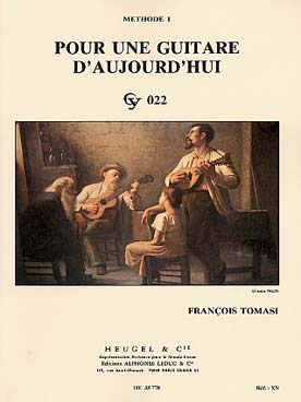 Franois Tomasi: for a Modern Guitar (Volume 1)