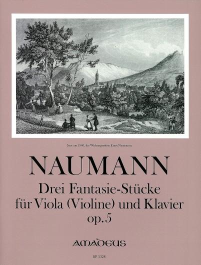 Ernst Naumann: 3 Fantasiestücke op. 5: Viola: Instrumental Work