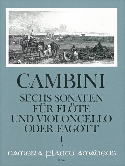Giuseppe Cambini: 6 Sonaten: Flute & Cello