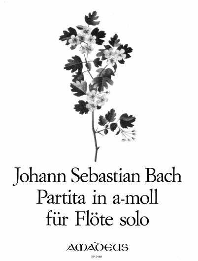 Johann Sebastian Bach: Partita In A Minor For Flute BWV 1013: Flute: