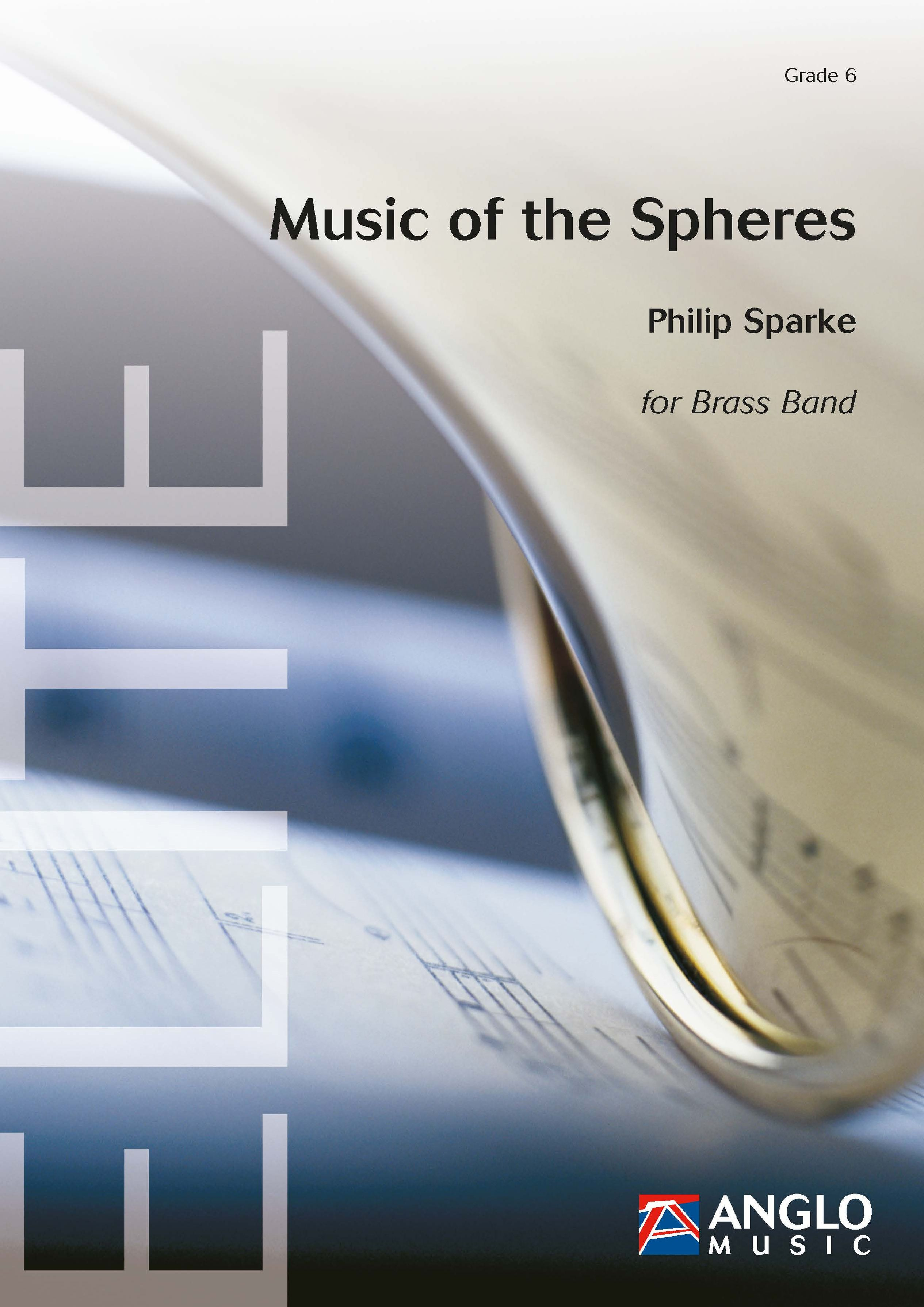 Philip Sparke: Music of the Spheres: Brass Band: Score & Parts
