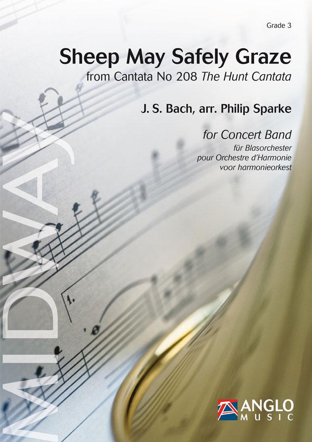 Johann Sebastian Bach: Sheep May Safely Graze: Concert Band: Score & Parts